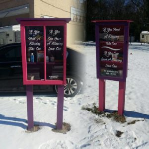 Image of blessing boxes