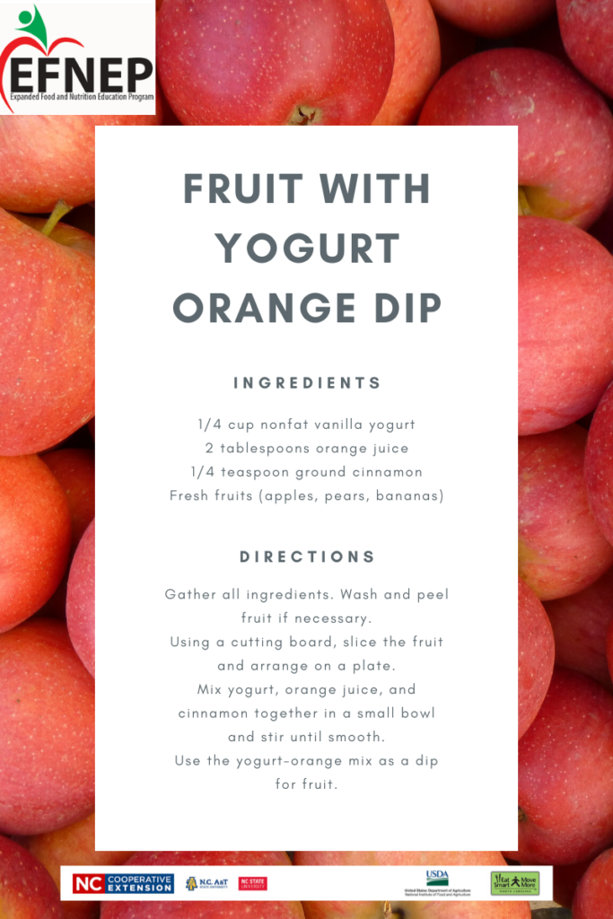 fruit yogurt dip recipe