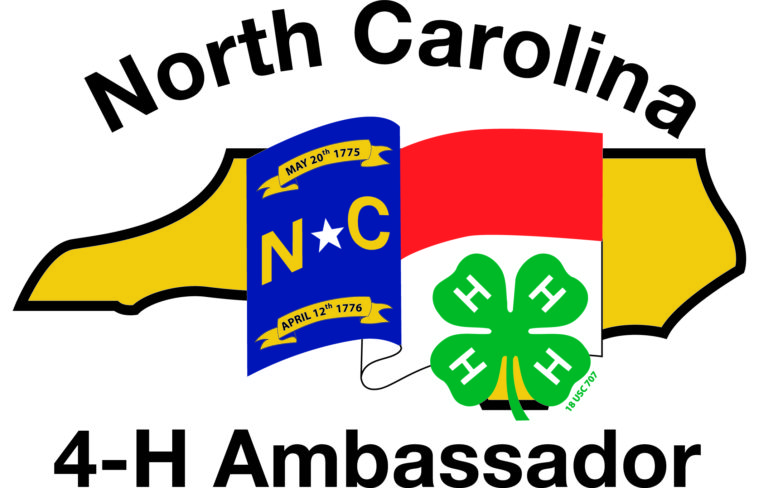 North Carolina 4-H Ambassador logo