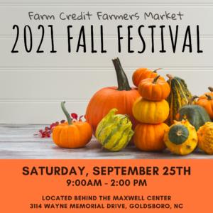 Fall Fest at Farm Credit Farmers Market